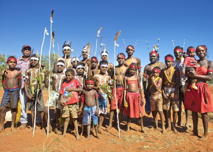Karajarri and Nyangumarta Dancers