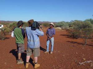 Toby Smirke filmed by FTI on Jurruru country