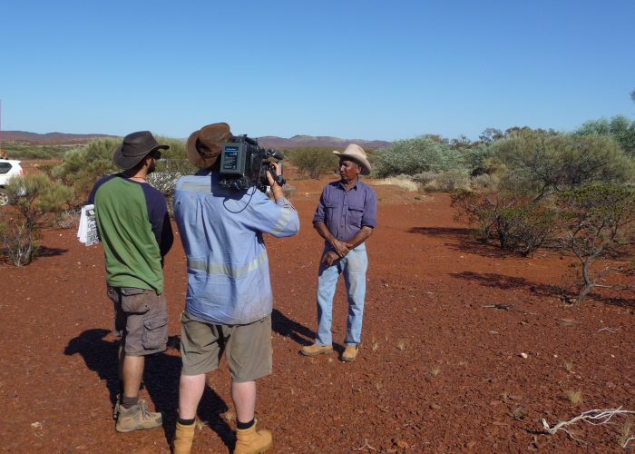Toby Smirke filmed by FTI on Jurruru country
