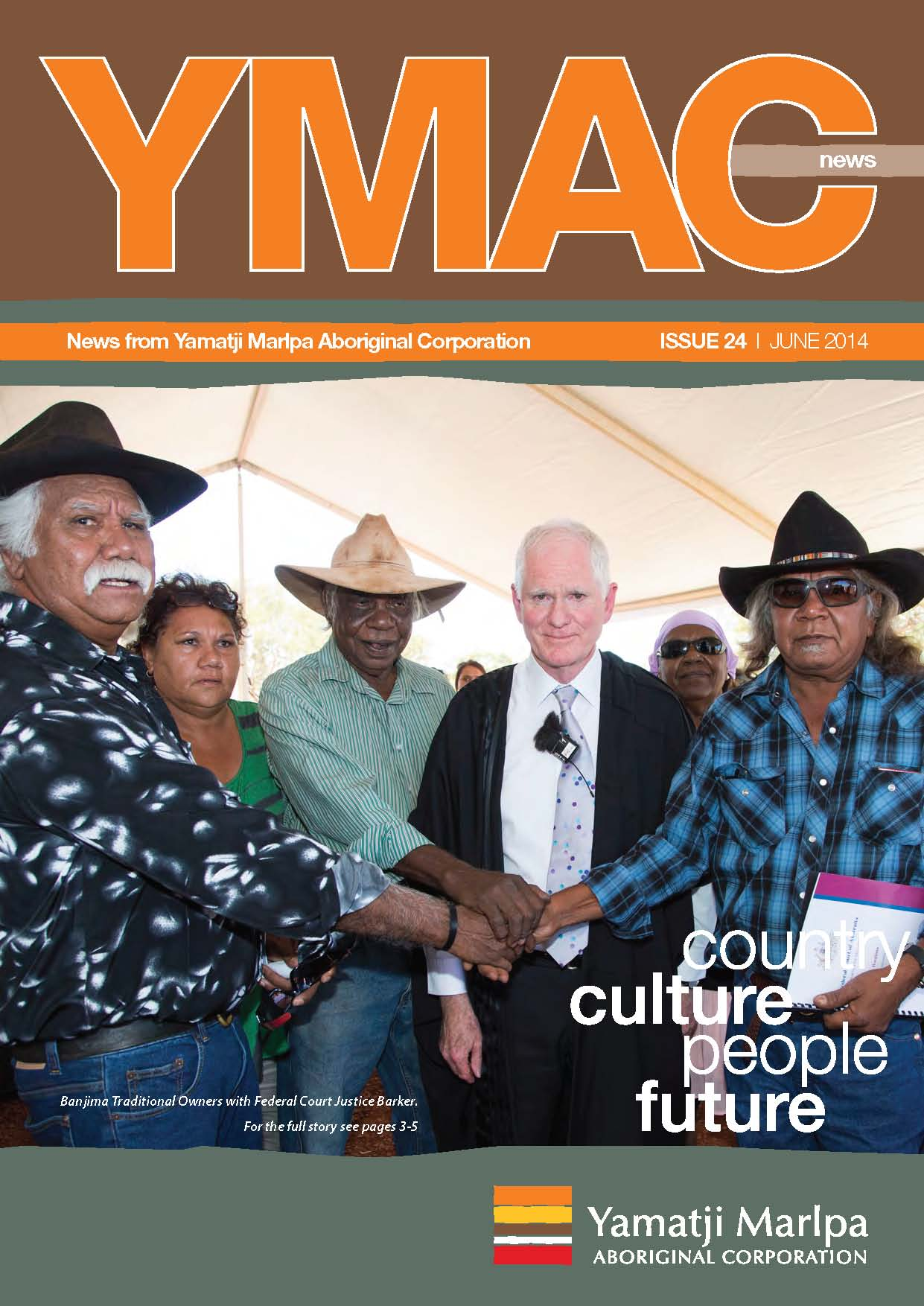 YMAC News issue 24 FRONT COVER