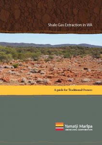 YMAC Community Guide to Shale Gas FRONT COVER