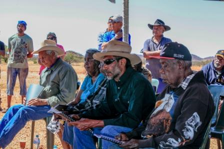 Jurruru traditional owners at their consent determination