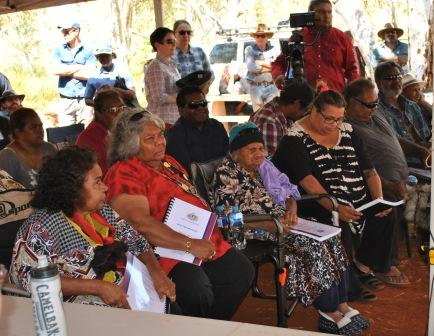PKKP elders at their native title determination