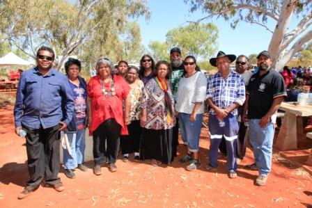 PKKP traditional owners at their native title determination