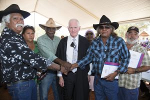 Traditional Owners with WA State representatives