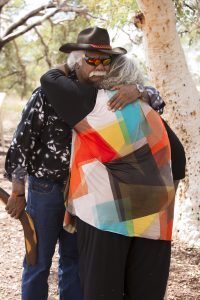 Traditional Owners celebrating their Native Title victory
