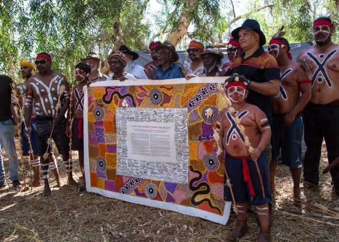 2017 On Country Yule River Bush Meeting featuring PAV Co Chairs Linda Dridi and Danny Brown with the Uluru Statement