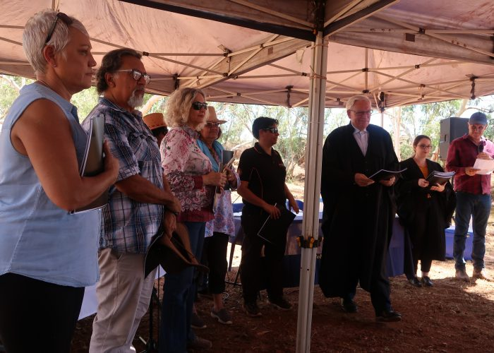 Palyku Applicants receive their native title recognition from the Court