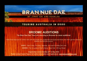 Opportunity to Audition for Bran Nue Day