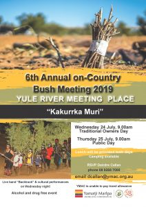 6th Annual Yule River Meeting 2019